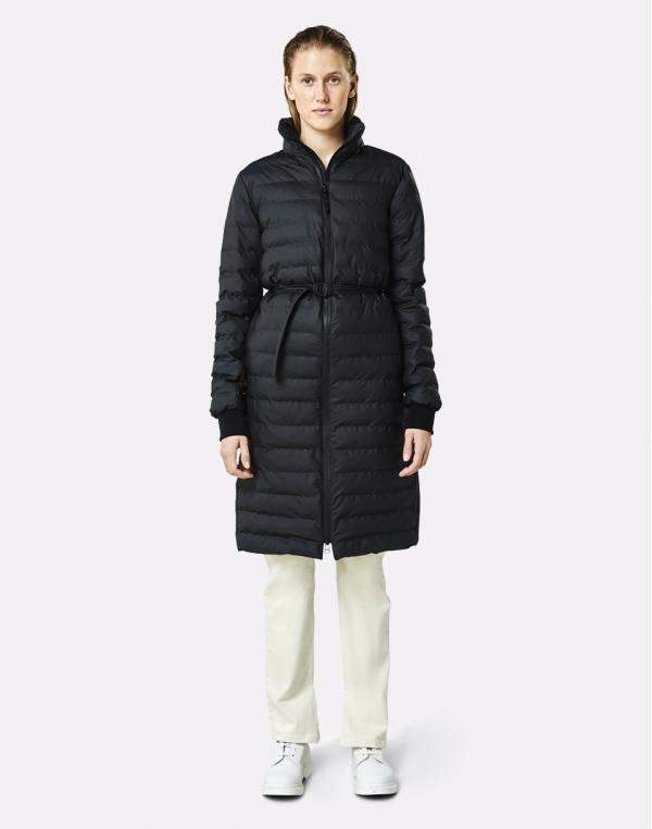 Rains Trekker W Coat 01 Black M/L