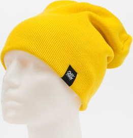F*CK THEM 2-Style Beanie žlutý