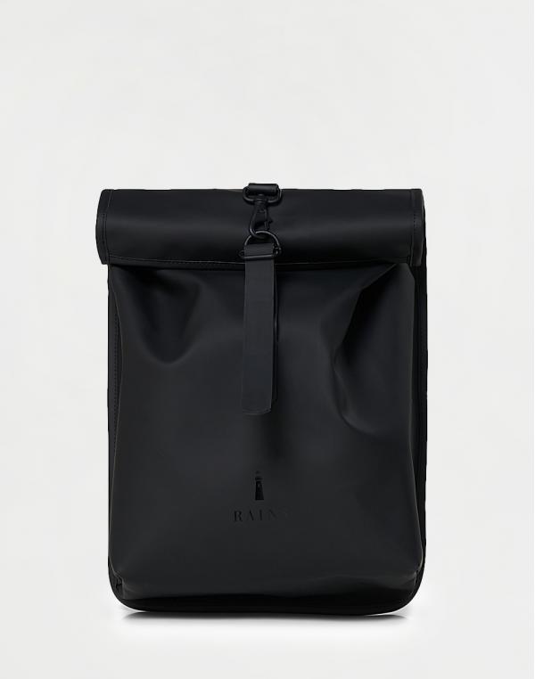 Rains Rolltop Mini 01 Black