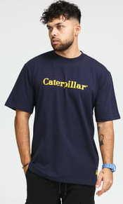 CATERPILLAR Basic Tee navy