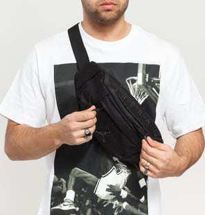 Jordan Ele Jacquard Crossbody Bag černá