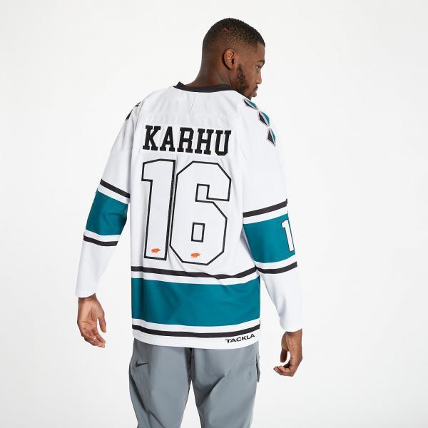 Karhu x Tackla Hockey Jersey White/ Green