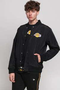 New Era NBA Team Logo Jacket LA Lakers černá
