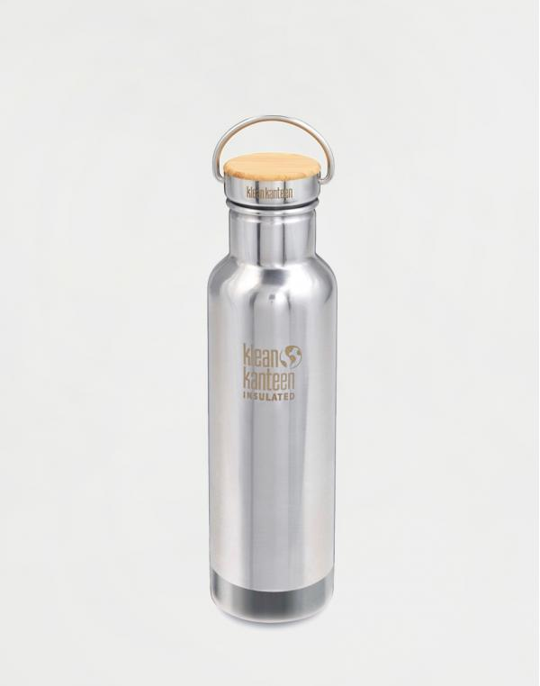 Klean Kanteen Insulated Reflect 592 ml (w/Bamboo Cap) Mirrored Stainless