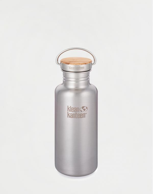 Klean Kanteen Reflect 532 ml (w/Bamboo Cap) Brushed Stainless