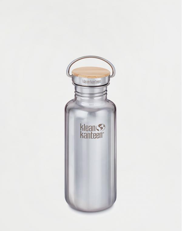 Klean Kanteen Reflect 532 ml (w/Bamboo Cap) Mirrored Stainless