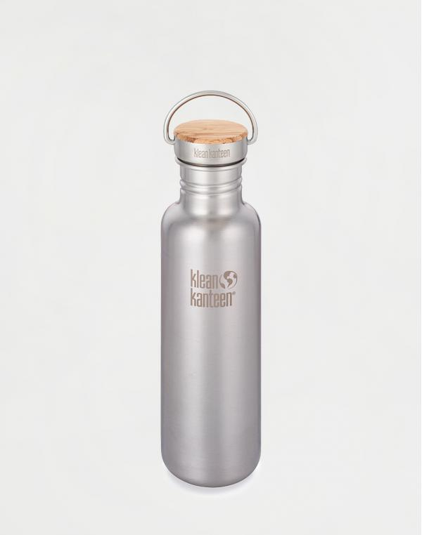 Klean Kanteen Reflect 800 ml (w/Bamboo Cap) Brushed Stainless