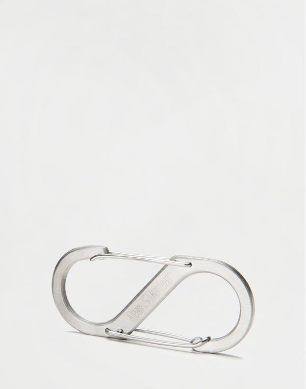 Klean Kanteen Steel S-biner Brushed Stainless