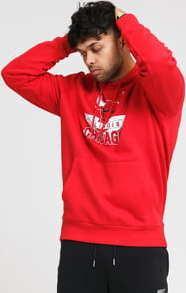 New Era NBA Graphic PO Hoody Chicago Bulls červená