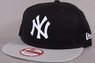 New Era 950 Cotton Block NY černá / šedá S-M