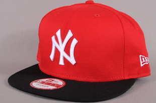 New Era 950 Cotton Block NY červená / černá / bílá