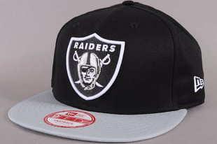 New Era Cotton Block Oakland Raiders C/O černá / šedá