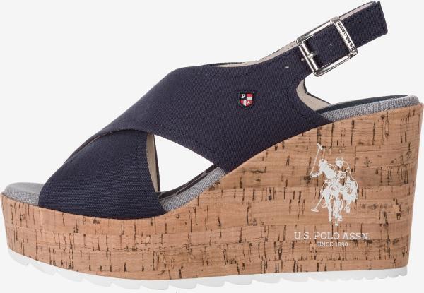 Theba Klínová obuv U.S. Polo Assn