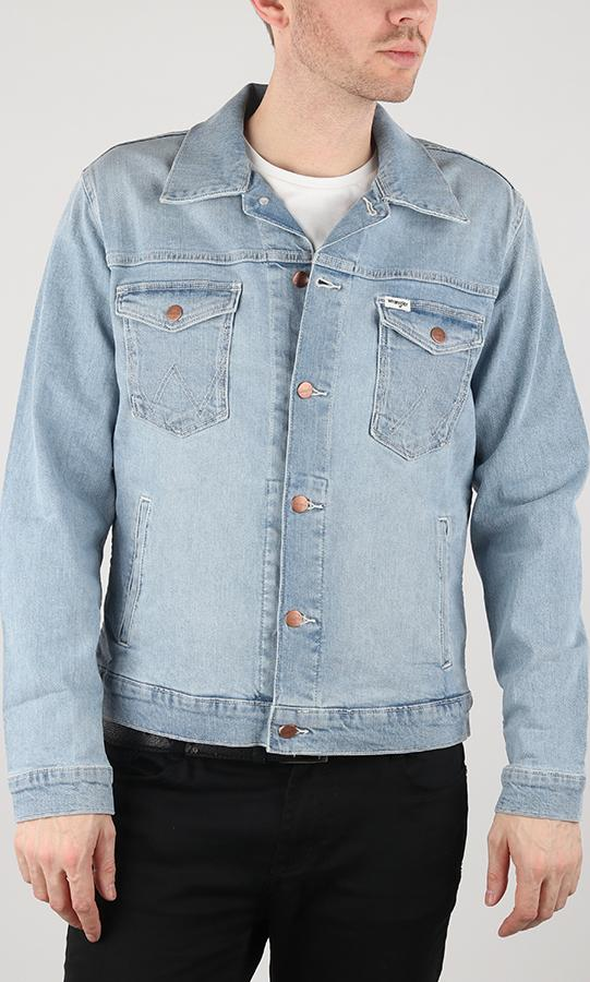 Bunda Wrangler Regular Jacket Mid Bleach