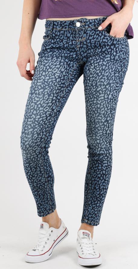 Animalier Print Jeans Alcott