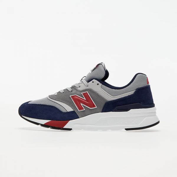 New Balance 997 Blue/ Grey/ Red