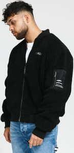 Wasted Paris Gavin Reversible Jacket černá