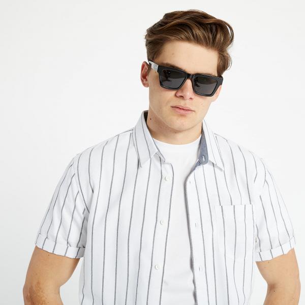 Vans CG Stripe Short Sleeve Shirt White/ Black