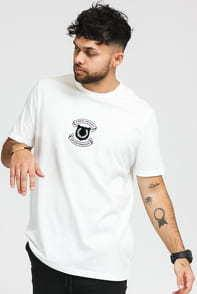FRED PERRY Embroidered Sheild Tee bílé