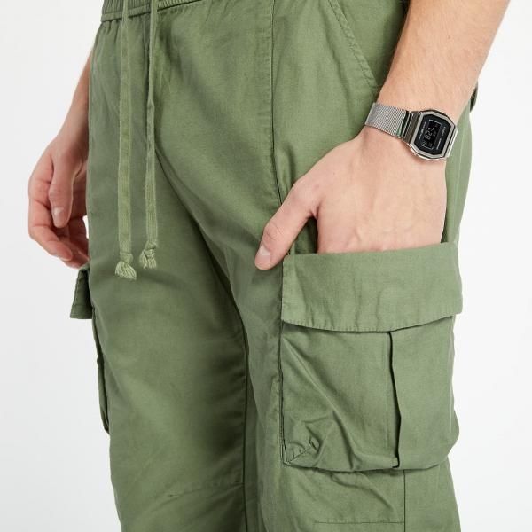John Elliott Back Sateen Cargo Pants Olive