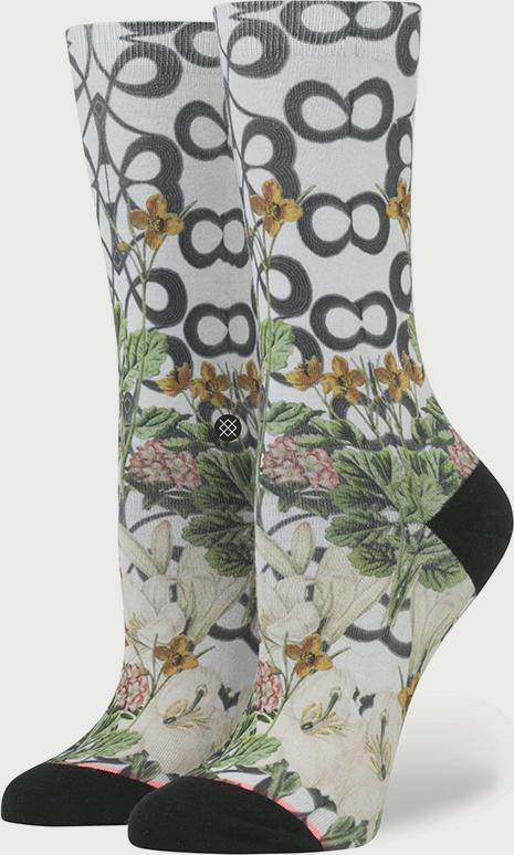 Ponožky Stance Lattice Wall Grey