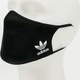 adidas Originals 3Pack Face Cover Small černá