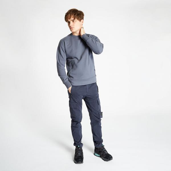 C.P. Company Zipped Sweatshirt Blue