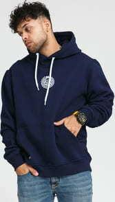 Mass DNM Base Small Logo Hoody navy