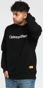 CATERPILLAR Basic Printed Logo Sweatshirt černá