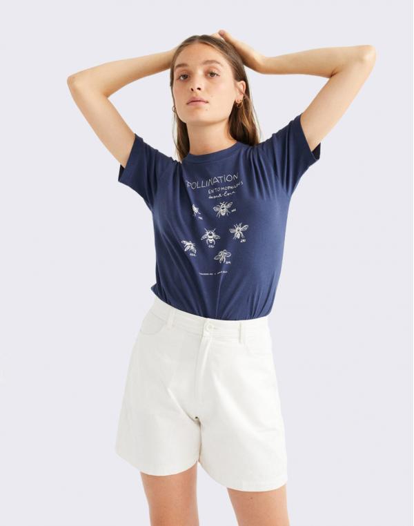 Thinking MU White Gardenia Shorts SNOW WHITE XS