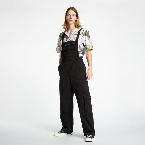 McQ Industrial Dungerees Black