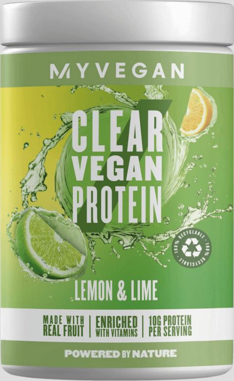Myvegan  Clear Vegan Protein - 20servings - Citrón a Limetka