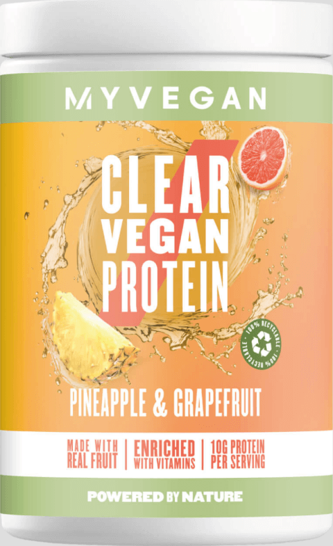 Myvegan  Clear Vegan Protein - 20servings - Pineapple & Grapefruit