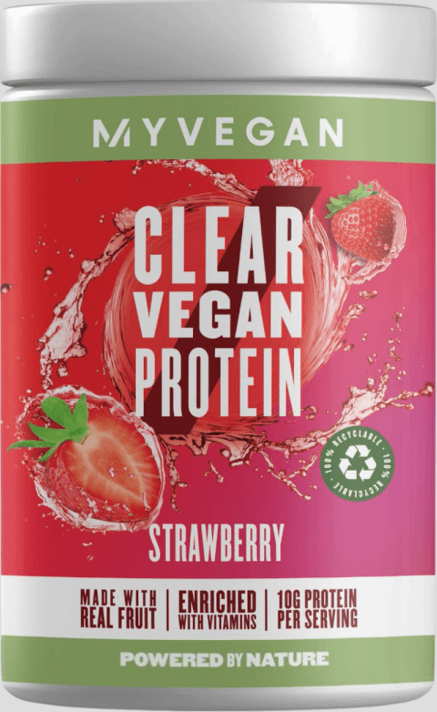 Myvegan  Clear Vegan Protein - 20servings - Jahoda