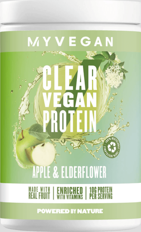 Myvegan  Clear Vegan Protein - 20servings - Apple & Elderflower