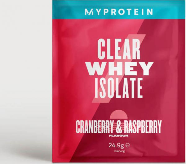Myprotein  Myprotein Clear Whey Isolate (Sample) - 24.9g - Cranberry & Raspberry