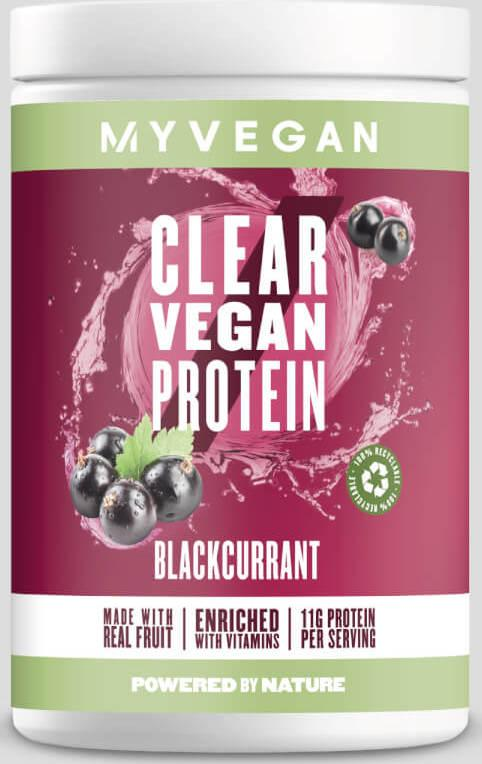 Myvegan  Clear Vegan Protein - 20servings - Černý rybíz