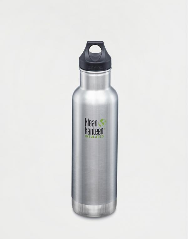 Klean Kanteen Insulated Classic 592 ml (w/Loop Cap) Brushed Stainless