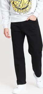 Mass DNM Slang Baggy Fit Pants black 38
