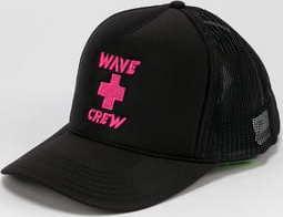 Pink Dolphin Wawe Crew černá
