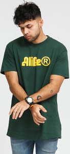 Alife Sphinx Tee tmavě zelené