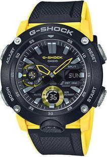 Casio G-Shock GA 2000-1A9ER černé / žluté