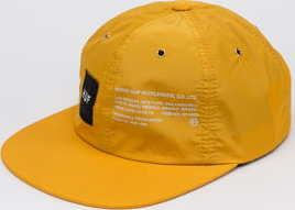 HUF Offset 6 Panel Cap žlutá