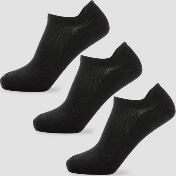 MP  Pánské kotníkové ponožky - Černé - UK 9-12