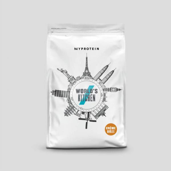 Myprotein  Impact Whey Protein - Světová kuchyně - 1kg - Crème Brulee