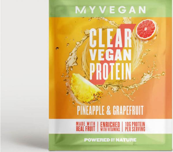 Myvegan  Myvegan Clear Vegan Protein, 16g (Sample) - 16g - Pineapple & Grapefruit