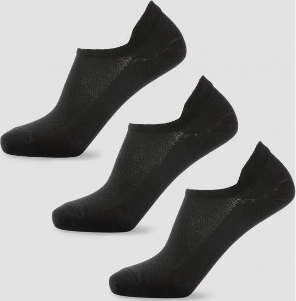 Myprotein  Dámské kotníkové ponožky - Černé - UK 3-6