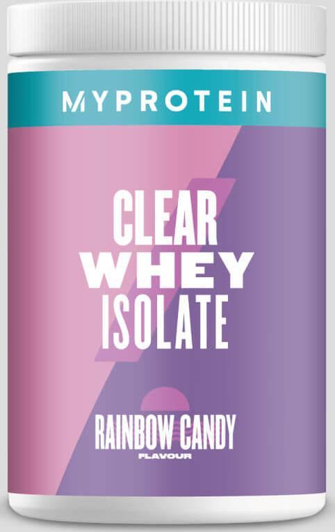 Myprotein  Clear Whey Isolate - 20servings - Sladká duha