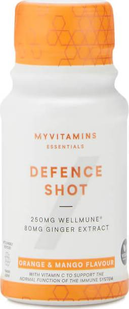 Myvitamins  Defence Shots - 12 x 60ml - Orange & Mango