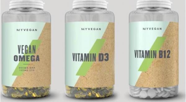 Myvegan  Myvegan balík vitamínů